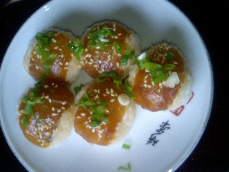平鱸の手鞠寿司