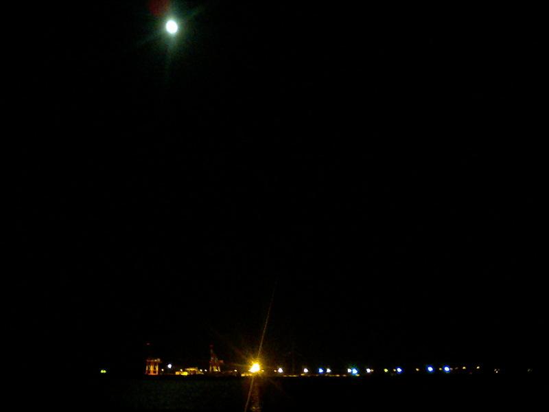 月夜のメバルなんて